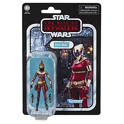 Star Wars The Vintage Collection The Rise of Skywalker Zorii Bliss Toy, 3.75 Scale Action Figure, for Kids Ages 4 & Up