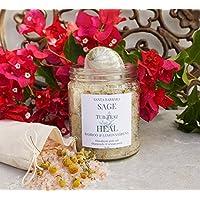 Organic HEAL Bamboo & Lemon Verbena Tub Teaz FREE Shipping on purchases over $35
