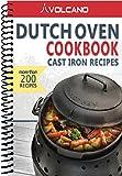 Volcano Grills 30-610 Cast Iron Dutch Oven Cookbook Recipes