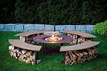 Metallmichl Edelrost Exklusive Feuerstelle Outdoor Model \