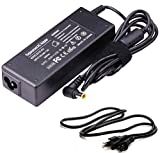 AC Adapter for 19.5V Sony Bravia TV Charger KDL-32 KDL-40 W600B W650A W674A W700B W800B; KDL55W650D, KDL48W600B, KDL-42W650A, KDL-40W600B, KDL-32W700B Smart LED LCD HDTV Screen Power Cord