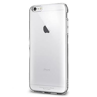buy online e21e4 8423c iPhone 6 Plus Case, Spigen® [SOFT-FLEX] iPhone 6 Plus (5.5) Case Slim  **NEW** [Capsule] [Crystal Clear] Premium Clear Flexible Soft TPU Case - ...
