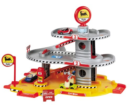 agip-city-3-level-parking-car-garage-play-set-includes-1-die-cast-car