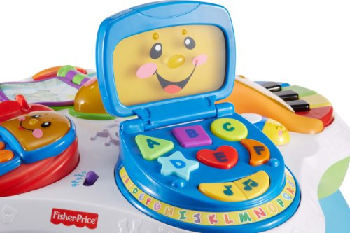 Fisher Price Laugh U0026amp; Learn Fun With Friends Musical Table Activity  Center