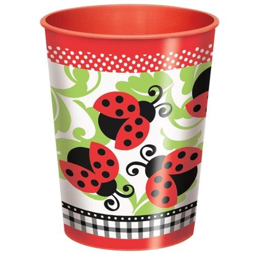Lively Ladybugs 9 oz. Cups