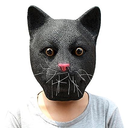 BNMY Máscara De Halloween Linda Panda Máscara Seria Máscara De Águila Divertida Máscara De Alpaca Máscara