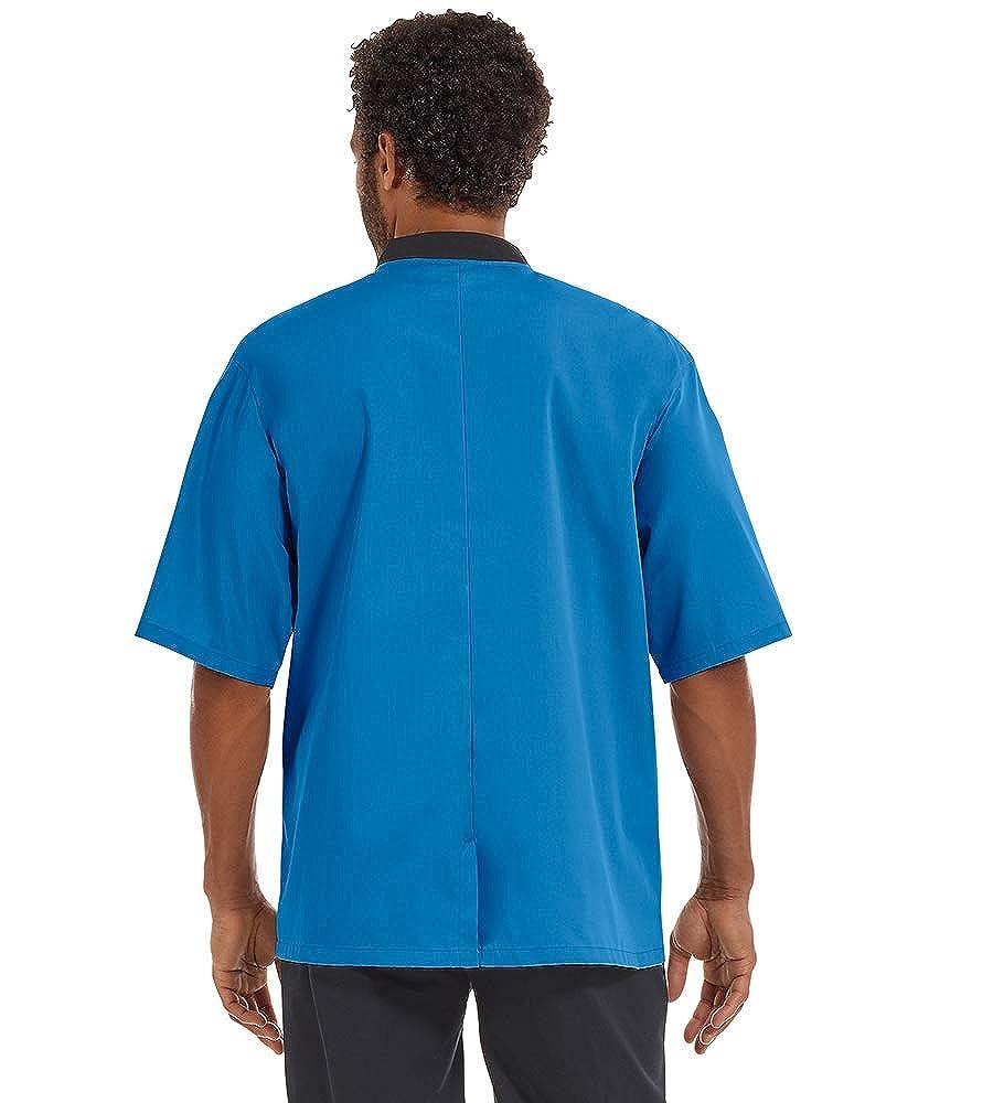 Men/'s Lightweight Chef Coat S-5X, 8 Colors
