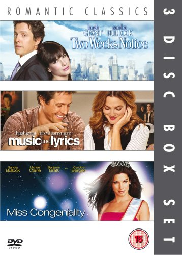 Two Weeks Notice / Music And Lyrics / Miss Congeniality [DVD]