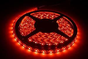 EastVita 5M 300LEDs SMD 3528 Flexible LED Strip Lights Super Bright Waterproof(Red)