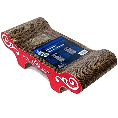 Catit Style Scratcher with Catnip, Urban Bench