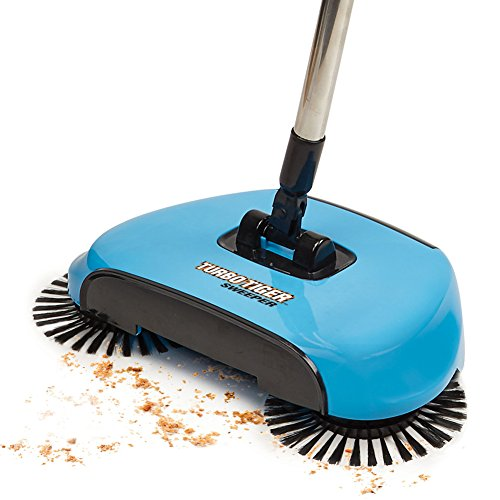 Amazon.com - Tristar Turbo Tiger Sweeper - Hard Floor Rotating Brush Broom - Red -