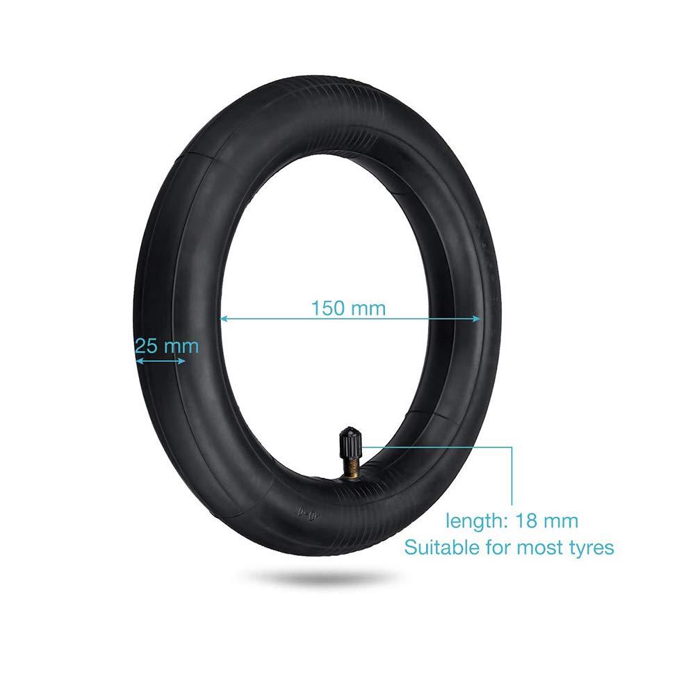 Winbang Neumático eléctrico de la Vespa, Anti-pinchazo inflado del reemplazo del neumático de Repuesto del Tubo Interno 8 1/2 * 2 para Xiaomi M365
