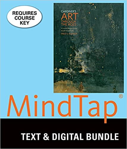 bundle gardners art through the ages a concise history of western art loose leaf version 4th mindtap history 1 term 6 months printed access card