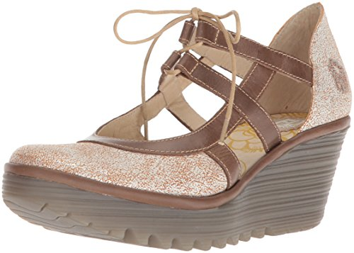 Grey Yett Rug Pearl Pump Fly Cool Wedge London Women's EY4anwxCSq