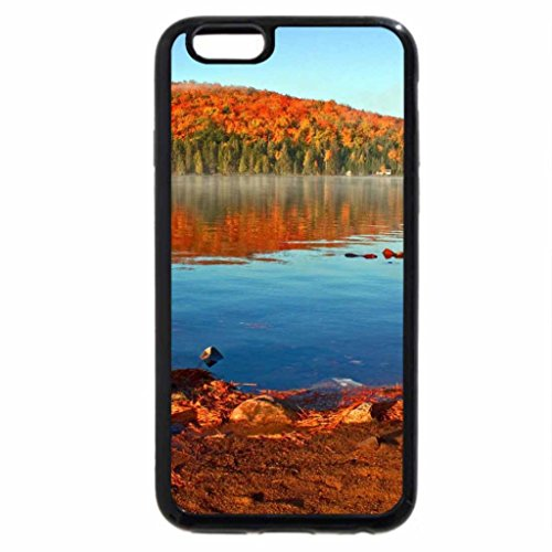 iPhone 6S / iPhone 6 Case (Black) Lakeside Autumn