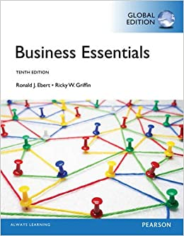 Business essentials global edition business essentials 10e by business essentials global edition business essentials 10e by ronald j ebert 9781292016900 amazon books fandeluxe Choice Image