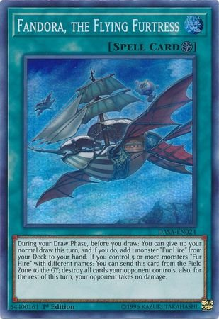(Sky Striker Mecharmory - Hercules Base - DASA-EN037 - Super Rare - 1st Edition)