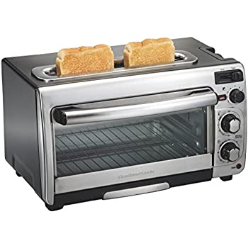 Hamilton Beach 31156 2-in-1 Oven and Toaster, Stainless Steel