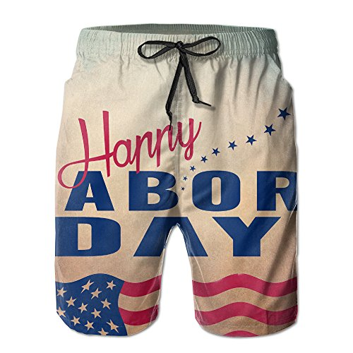 Labor Day 2017 Leisure Labor Day 2017 Adults Swim Trunks Beach Shorts Nightclothes With Pockets For Men