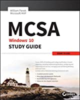 MCSA Windows 10 Study Guide: Exam 70-698 Front Cover
