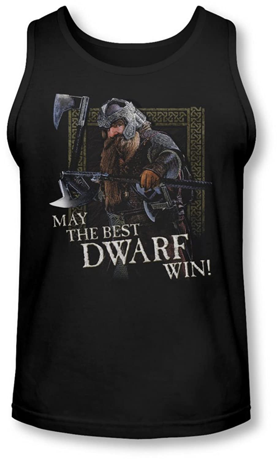 Lor - Mens The Best Dwarf Tank-Top