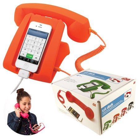 Talk Dock Mobile Device Handset and Charging Cradle