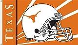 NCAA Texas Longhorns 3-by-5 Foot Flag with Grommets - Helmet Design