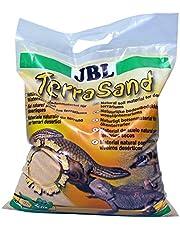 JBL TerraSand 71018 podłoże dla pustynnych terrariów, żółtych piasków, 7,5 kg