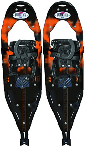 Redfeather Trek 25 Inch Fitness Series Snowshoes with SV2 Bindings - 152610 (Trek Snowshoe Aluminum)