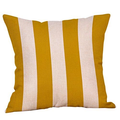 AOJIAN Home Decor Decorative Yellow Geometric Cushion Cover Pillow Protectors Bolster Pillow Case Pillowslip,Throw Pillow Covers