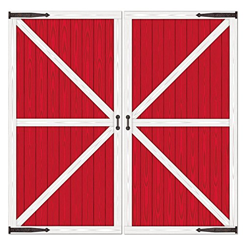 Western Party Decorations (Barn Door Props Party Accessory (1 count) (2/Pkg))