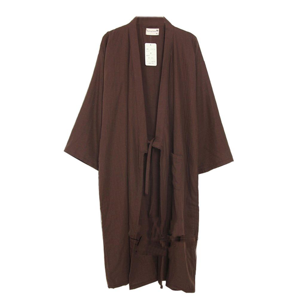 Fancy Pumpkin Yukata degli uomini veste Kimono Robe Khan Steamed Clothing Pajamas # 03 CLO-FIONA1045704-191