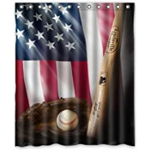 Great Galbreath Case National Flags 100% Polyester Fabric Shower Curtain Standard  Size Custom 72x72inch/180x180cm. By BASEBALL Shower Curtain