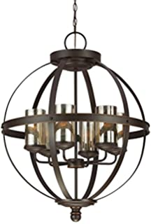sea gull lighting 3110404 715 sfera four light chandelier with