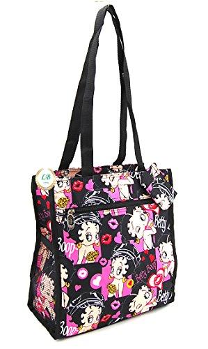 Betty Boop Medium Shopper Bag (Multi Colors)