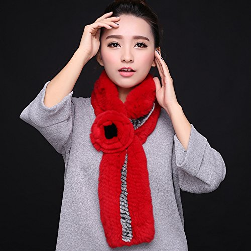 Wuyulunbi@ Autumn and Winter Scarf Knitted Scarf,Safflower by Wuyulunbi@ (Image #1)