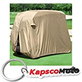 Waterproof Superior Beige Golf Cart Cover Covers Club Car...
