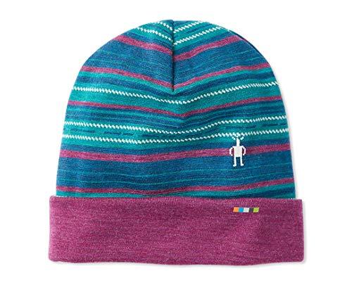 Smartwool Unisex Pattern Cuffed Beanie - Merino Wool 250 Reversible Hat for Men and Women