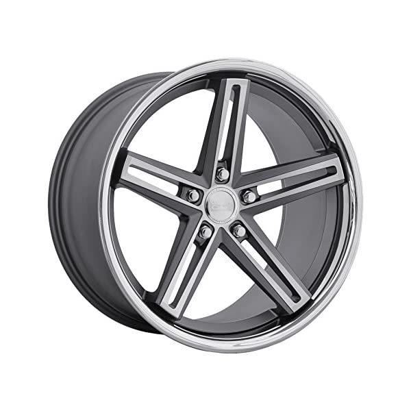 Concept-One-CS-55-Matte-Gunmetal-Brushed-Wheel-with-Painted-Finish-20-x-9-inches-5-x-120-mm-10-mm-Offset