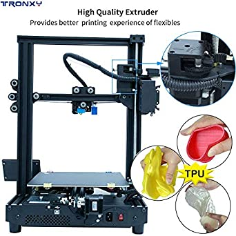 Impresora 3D con pantalla táctil XY-2 semi ensamblada con ...