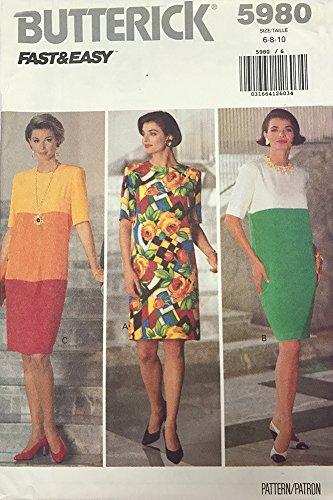 50s dress pattern easy - 4