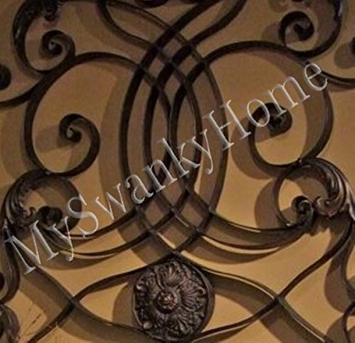 extra large 61 wall art iron scroll oversize indoor or outdoor buy online in uae home. Black Bedroom Furniture Sets. Home Design Ideas