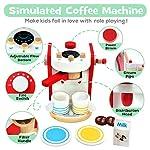 yoptote-Macchina-Caffe-Legno-Accessori-Cucina-Giocattolo-Caffettiera-Set-Caffe-da-Cucina-Gioco-Ruolo-Giocattoli-per-Bambini-3-4-5-Anni