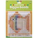 Perler Beads Clear Large Square Biggie Bead Pegboard 2 Pack