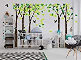 Giant Jungle Tree Wall Decal Removable Vinyl