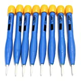 8PCS Adjust Frequency Screwdriver Anti-static Plastic Ceramic Set 90MM High Quality