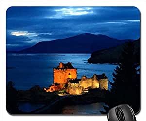 fabulous castle in light Mouse Pad, Mousepad (Ancient Mouse Pad, 10.2 x 8.3 x 0.12 inches)