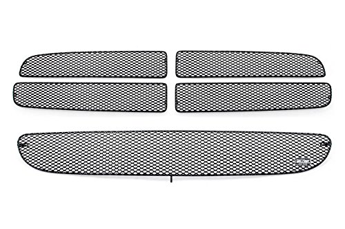 GrillCraft D1250-51B MX Series Grille Upper/Lower Insert Kit Steel Mesh Pattern Black Powder Coat Top Finish MX Series Grille Upper/Lower Insert Kit - Kit Top Grille