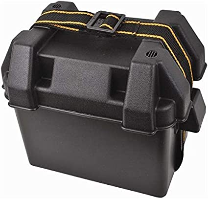 Attwood Corporation 9082-1 Small Battery Box Black