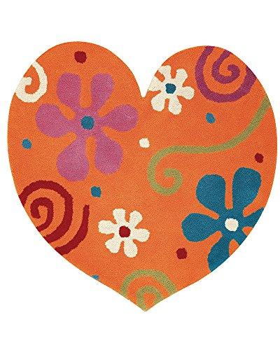 Dynamic Rugs FAHE331708770 Fantasia Heart 1708-770 Rug, 3' by 3', - Shipping Wayfair To India